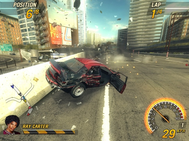 Flatout 2 Screenshot PS2